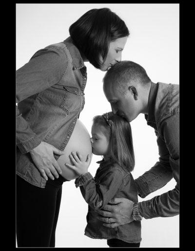 Photos professionnelles Maternité Grossesse Famille Morbihan Bretagne